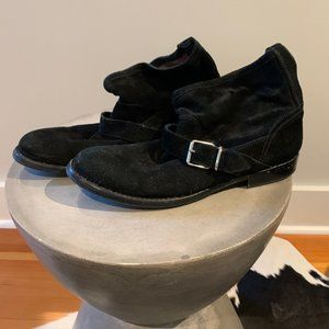 Burberry Suede Ankle Boots Size 41 / 11